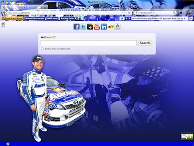 Brian Vickers welcome image