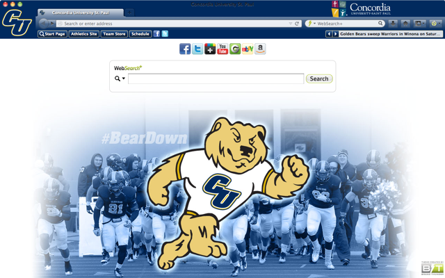 Concordia University St. Paul welcome image