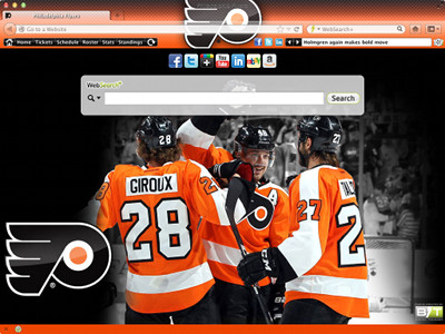 Philadelphia Flyers Interactive Persona welcome image