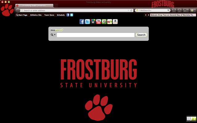 Frostburg State University welcome image