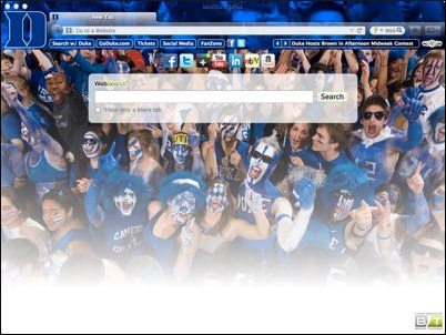 Duke welcome image