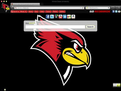 Illinois State University welcome image