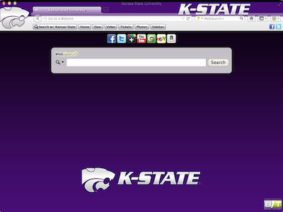 Kansas State University welcome image
