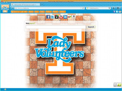 University of Tennessee Lady Vols welcome image