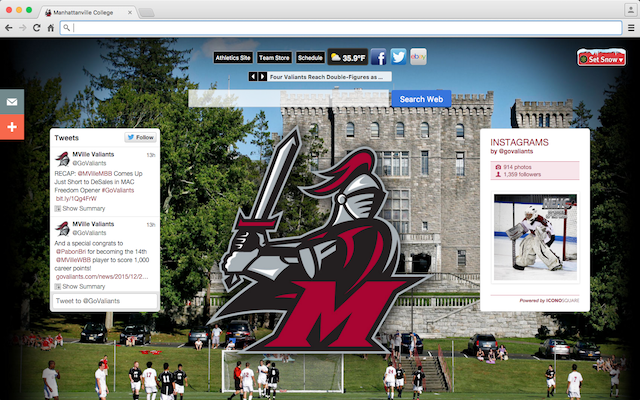 Manhattanville College welcome image