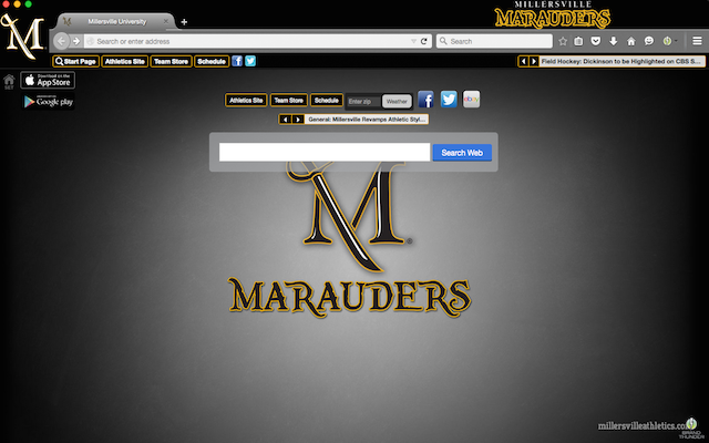 Millersville University welcome image