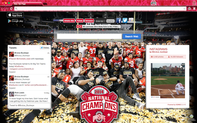 Ohio State welcome image