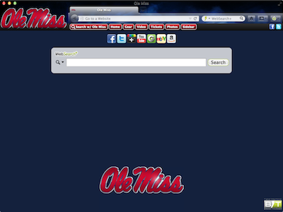 Ole Miss welcome image