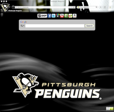 Pittsburgh Penguins Interactive Persona welcome image
