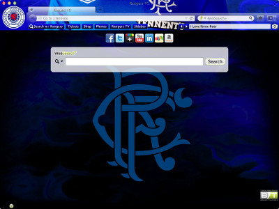 Rangers Football Club Interactive Persona welcome image