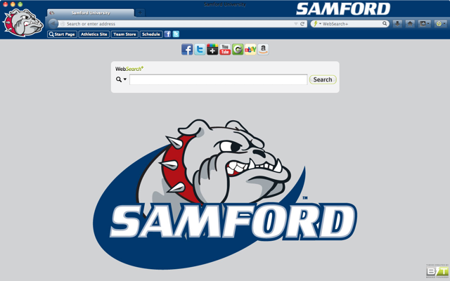 Samford University welcome image
