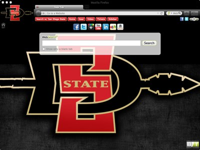 San Diego State University welcome image