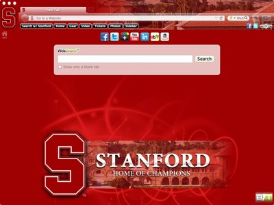 Stanford University welcome image