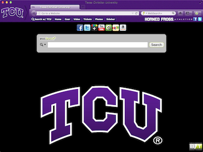Texas Christian University welcome image