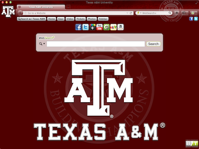 Texas A&M University welcome image