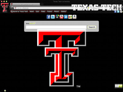 Texas Tech University welcome image