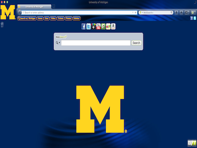 University of Michigan welcome image