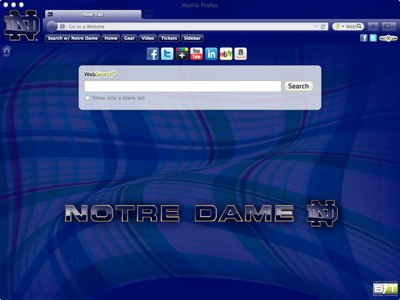 University of Notre Dame welcome image