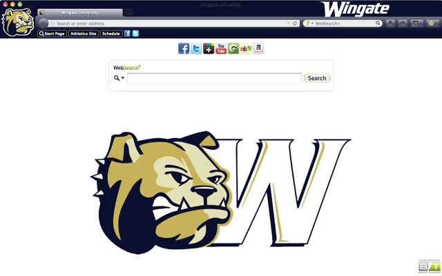 Wingate University welcome image