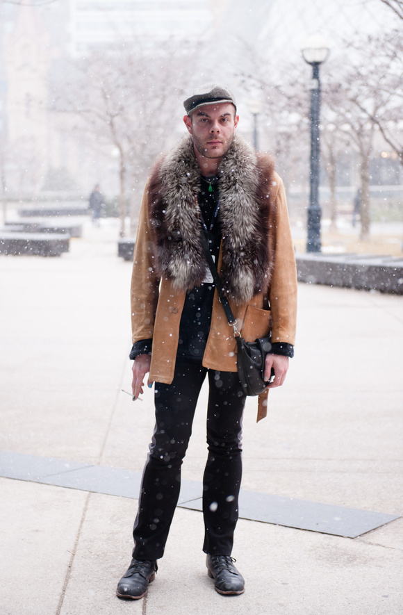 Street Style At Toronto Fashion Week Fall 2013 Daniel