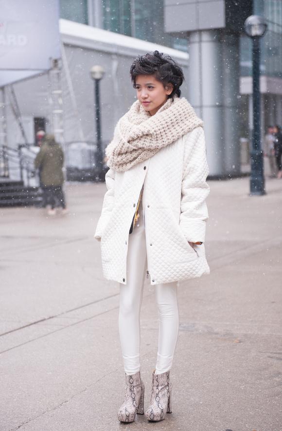 Street Style At Toronto Fashion Week Fall 2013 Bianca