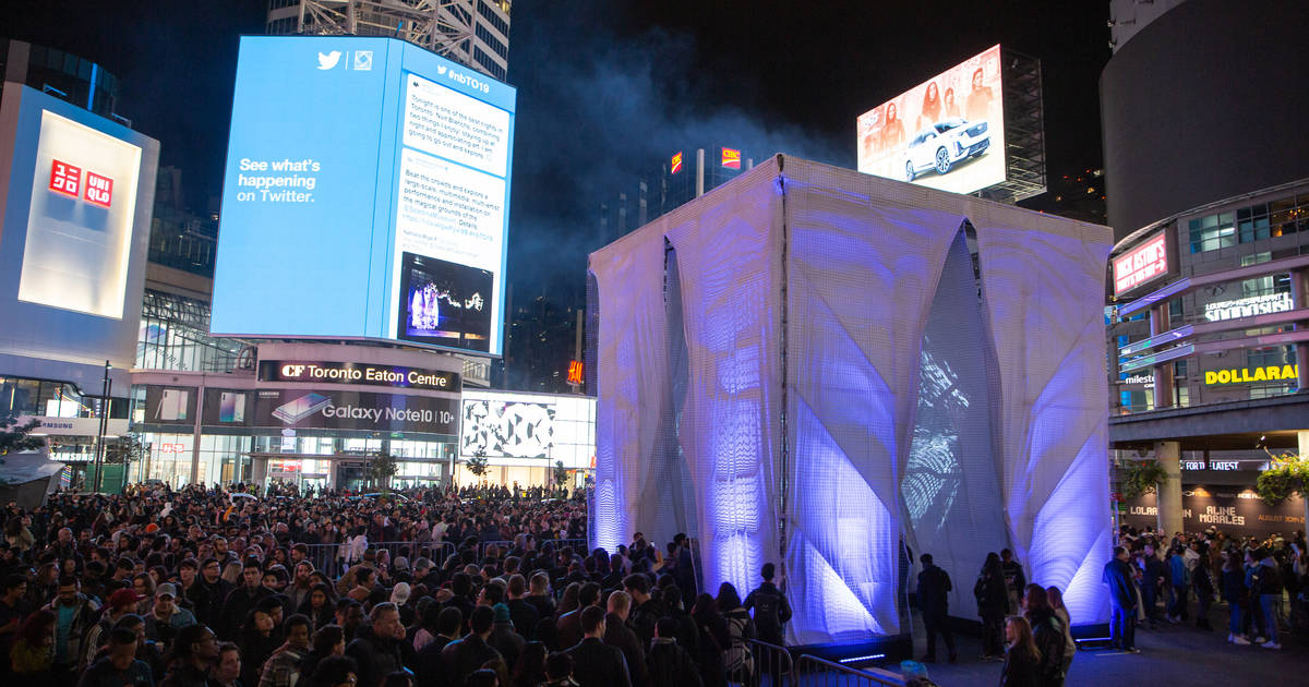 Nuit Blanche put on an unreal display in Toronto for the 2019 edition