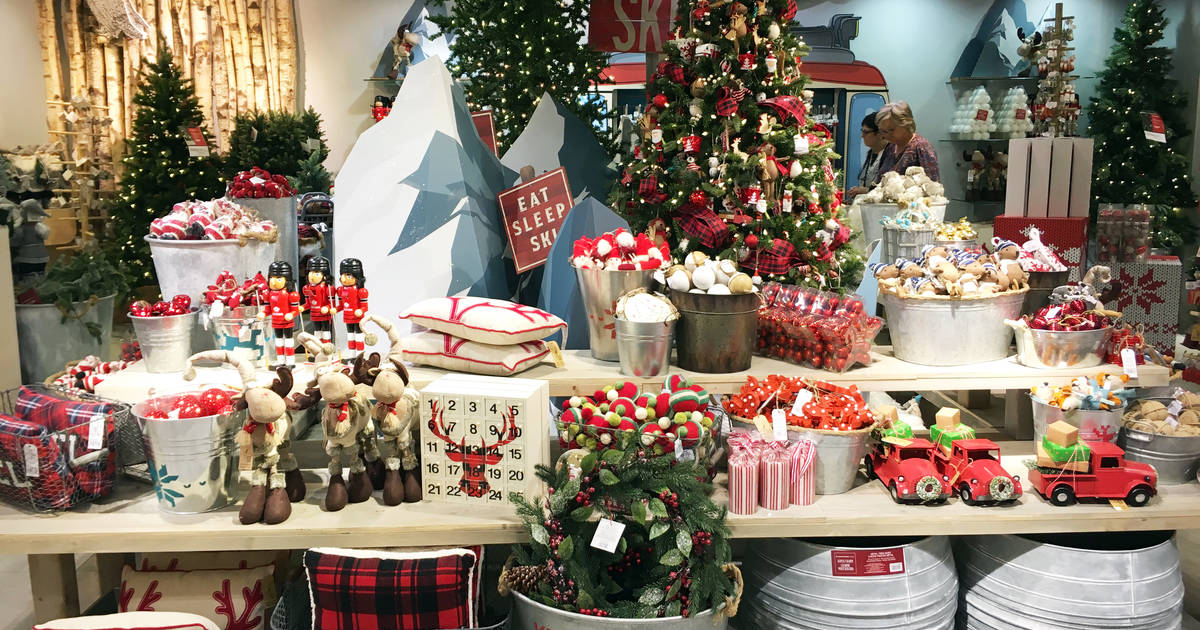 Christmas Stuff.Toronto Stores Already Selling Christmas Decorations And