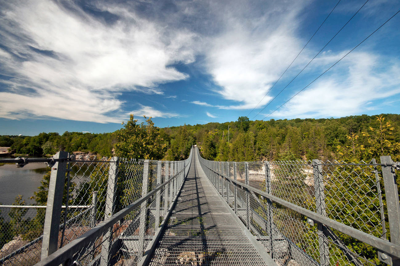 This epic suspension bridge is just two hours from Toronto