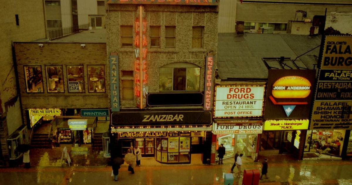 A flashback to the gritty Toronto of the 1980s