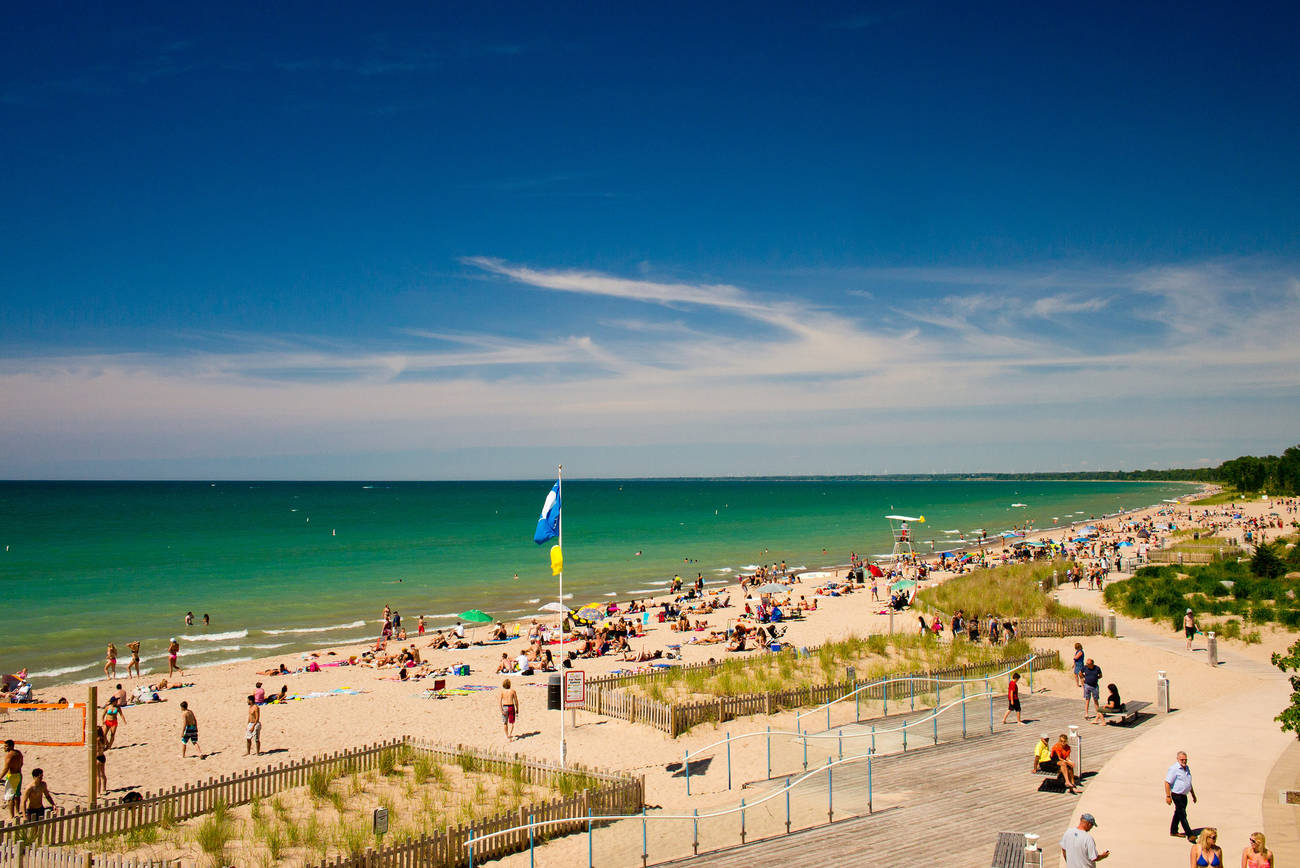 The top 25 beaches in and around Toronto