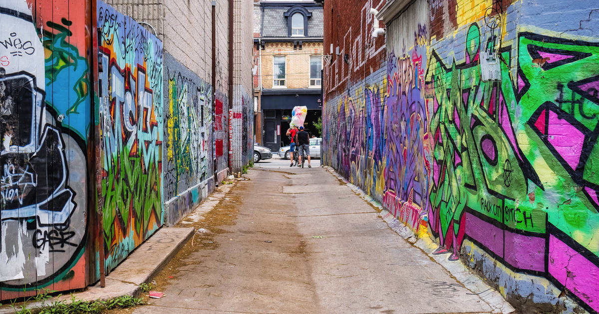 Toronto's Graffiti Alley to host huge street party