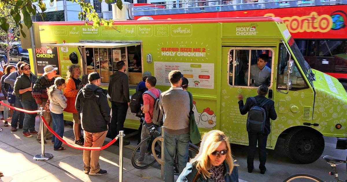 Food Truck Giving Away Free Fried Chicken All Weekend In Toronto
