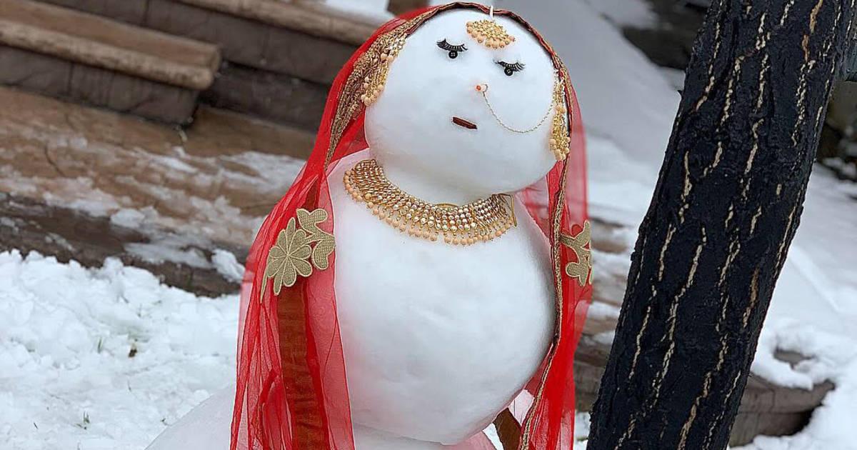 blogto.com - Brampton snow woman breaks the internet