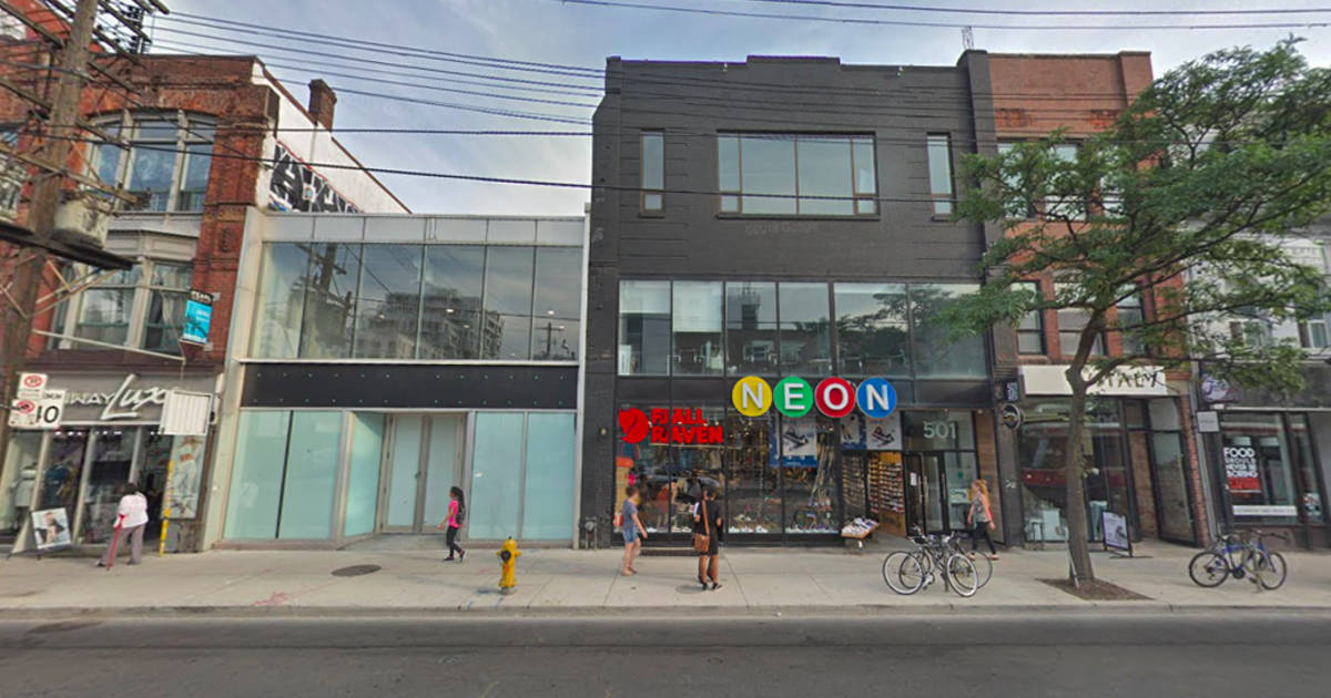 The location of Toronto's third retail cannabis store was just revealed