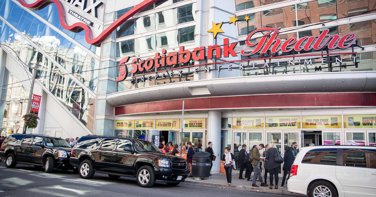 Toronto's Scotiabank Theatre might be demolished