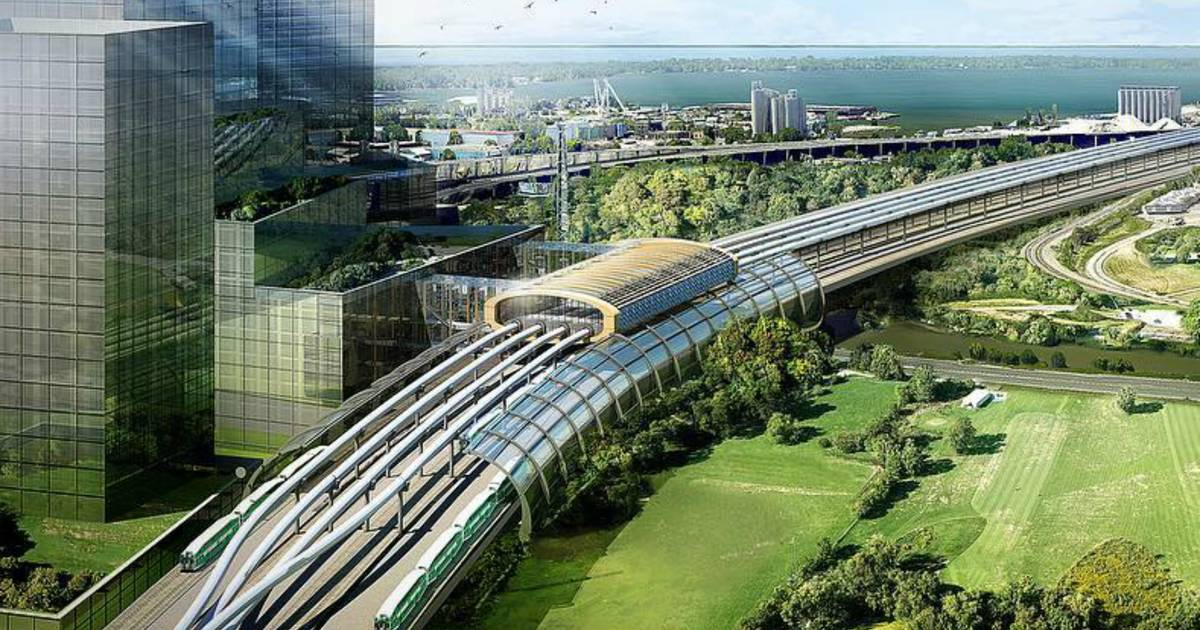 A hyperloop between Toronto and Montreal is moving closer to reality