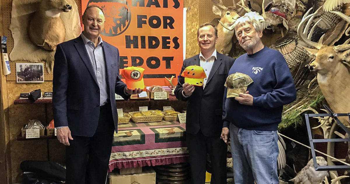 Doug Ford announces $100K investment in hats for hunters