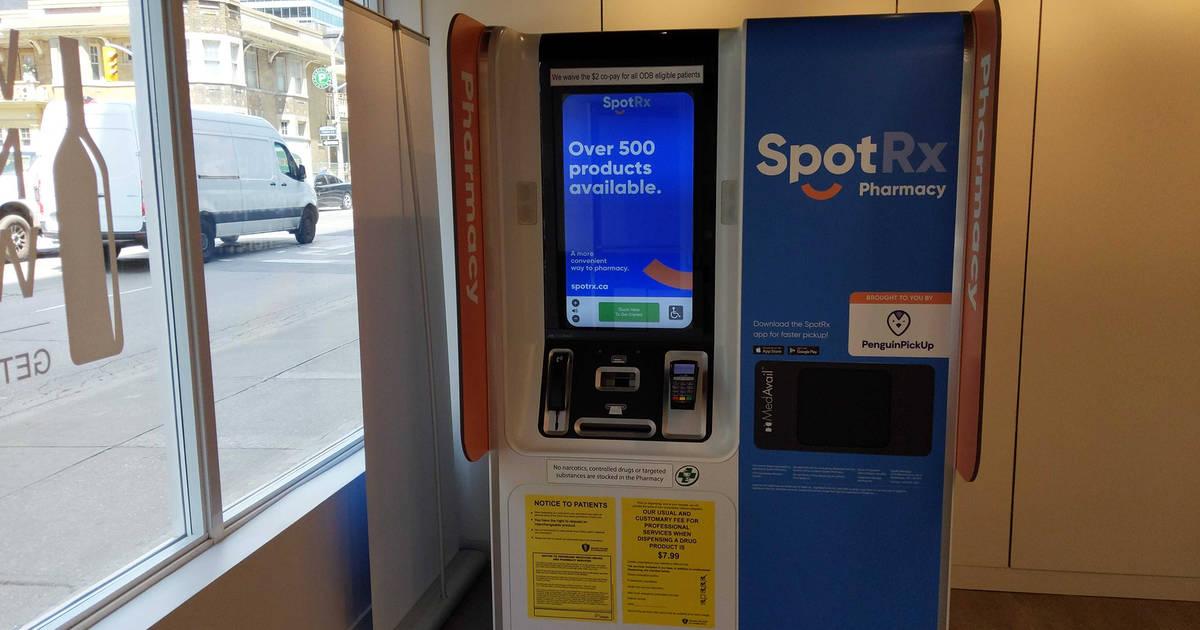 Toronto just got an ATM-style self-service pharmacy
