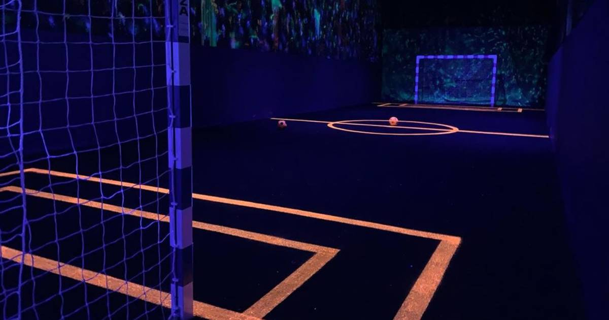 Toronto just got Canada's first indoor glow-in-the-dark soccer facility
