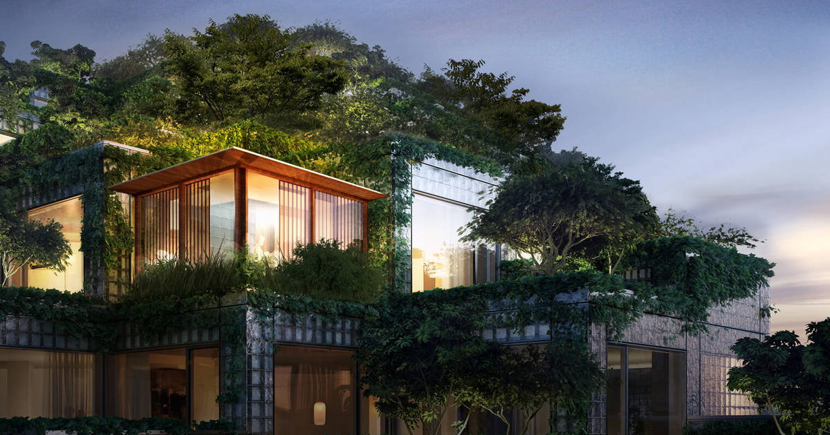Luxurious new condos in Toronto will have indoor trees and private tea rooms