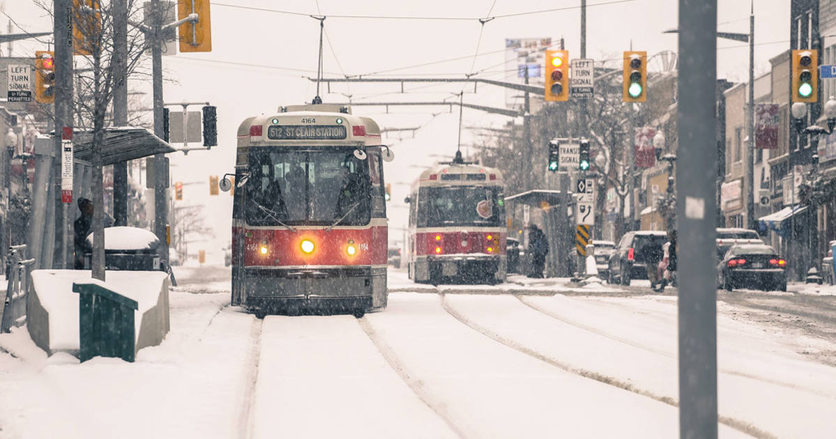 Environment Canada warns it's going to be a snowy commute in Toronto on Thursday