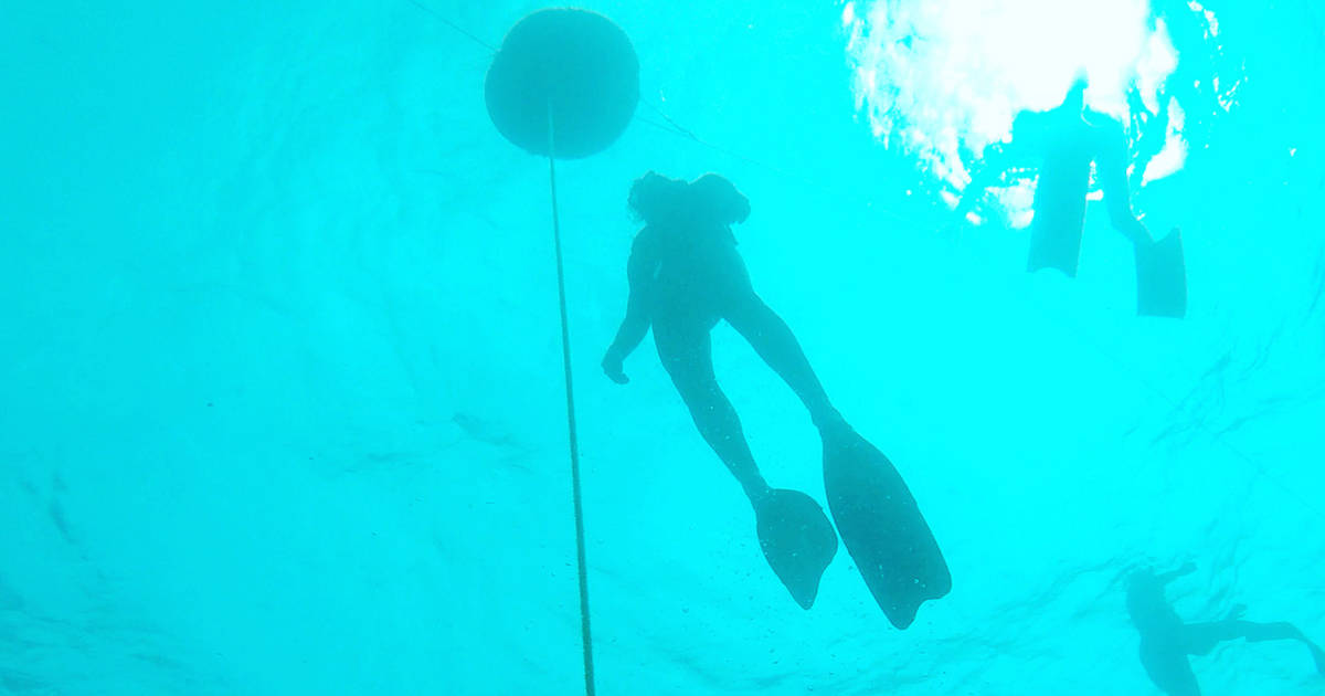 You can now do underwater freediving off the Toronto Islands