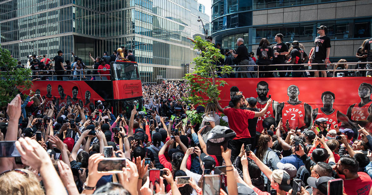 This Is How Many People Were At The Raptors Parade In Toronto