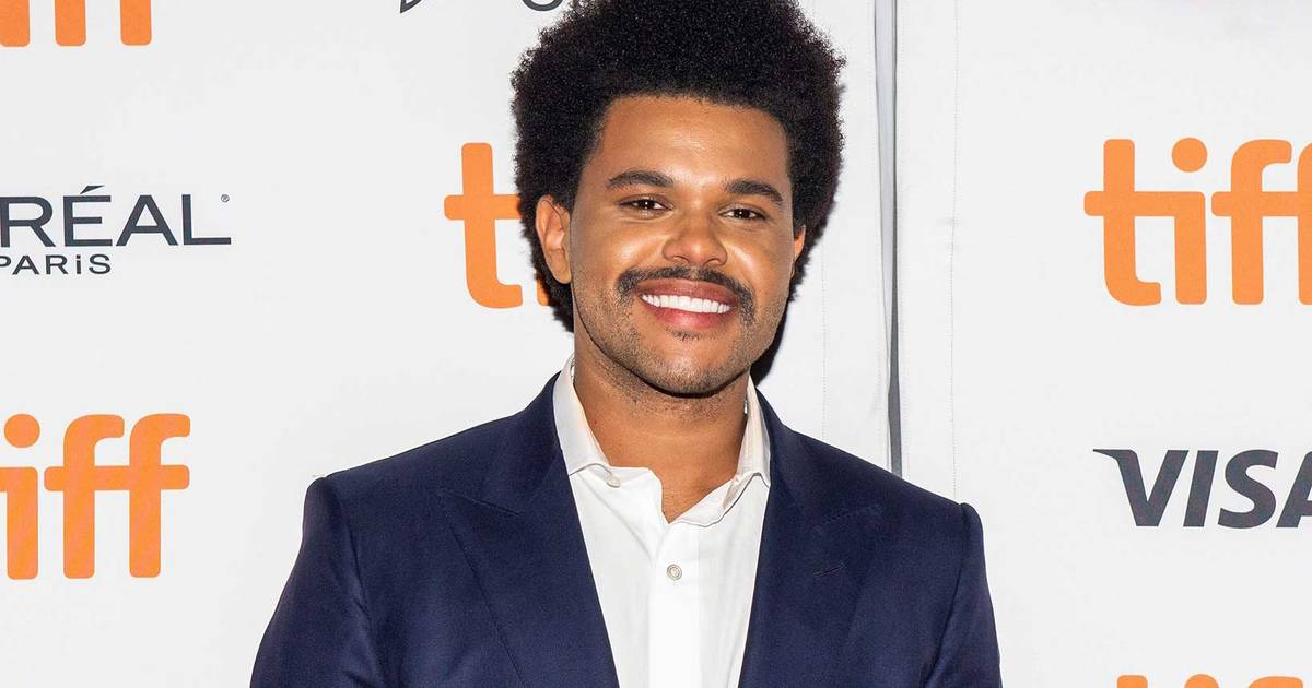 The Weeknd showed off a new look in Toronto and it reminds people of Lionel Richie