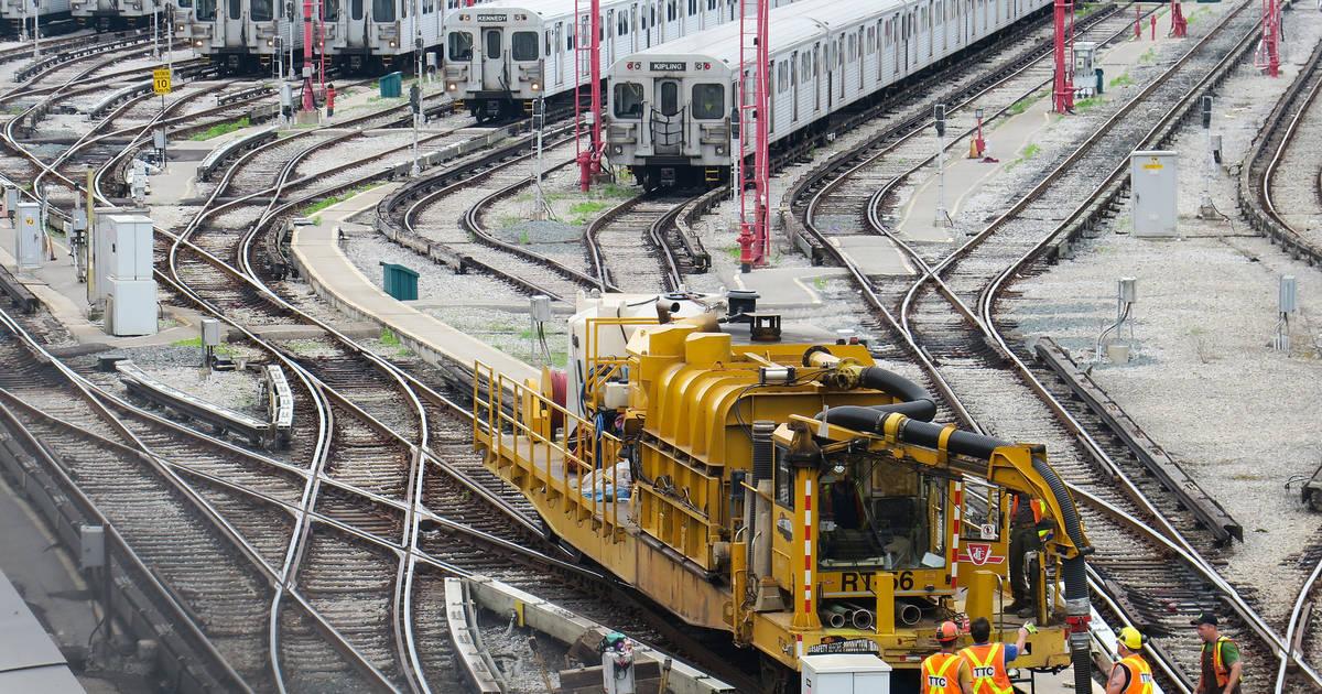 今週末、トロントで6つの地下鉄駅が閉鎖されます