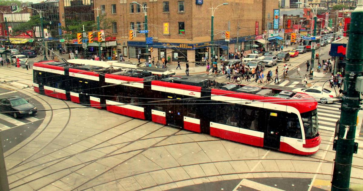 This is why the new TTC streetcars look like they don't have roofs