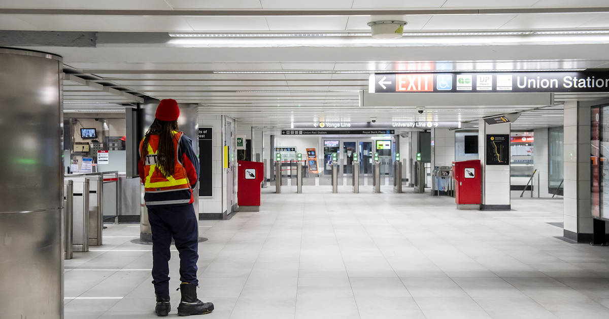 This is what Toronto subway stations look like these days