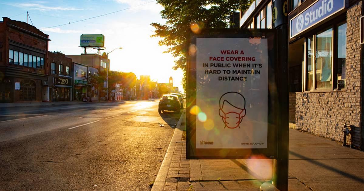 これはトロントでフェイスマスクを着用することを拒否する人々に対処する方法です
