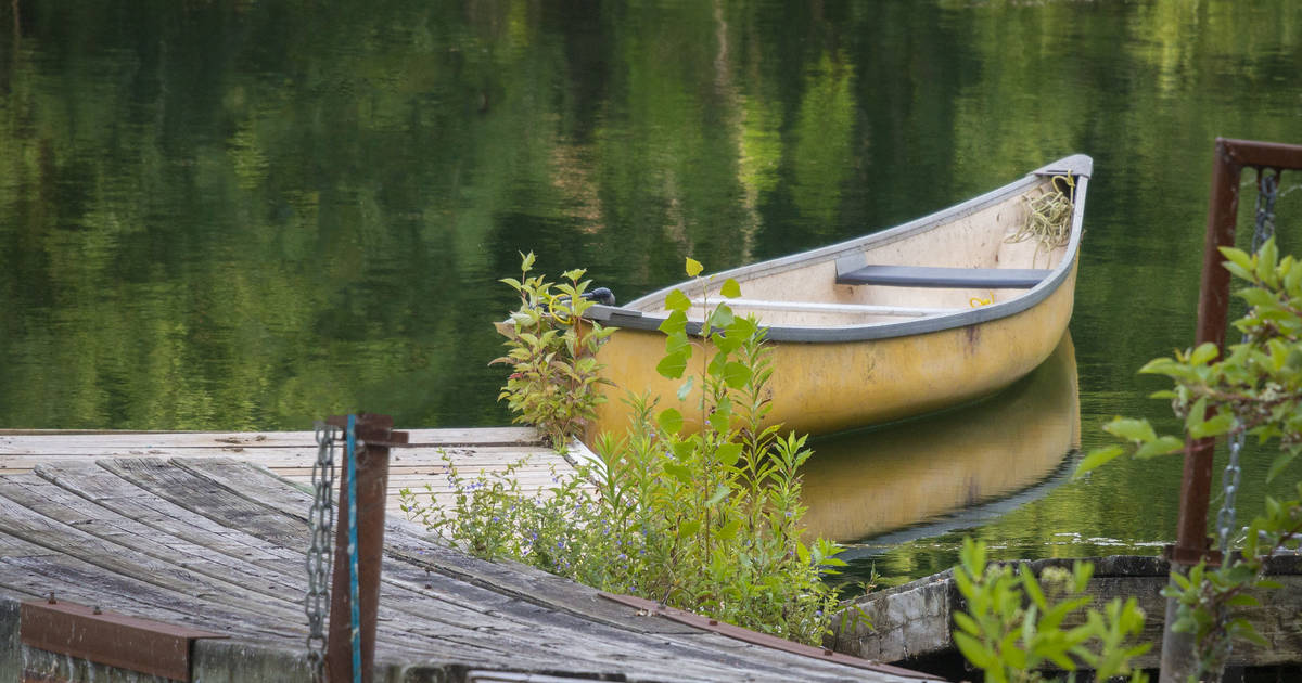 Ontario provincial parks will rent you a canoe and paddle right now but not a lifejacket