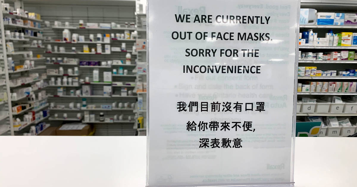 Completely Sold Toronto After Masks Out Face In Are Now N95